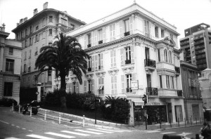 The Monaco headquarters of the Thyssen-Bornemisza Group on Boulevard Princesse Charlotte